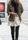 Jessica Alba - Leggy candids in New York-07