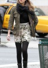 Jessica Alba - Leggy candids in New York-08