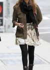 Jessica Alba - Leggy candids in New York-09