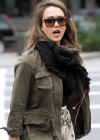 Jessica Alba - Leggy candids in New York-10