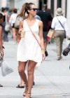 Jessica Alba - Out in a Nice Summer Dress in NY