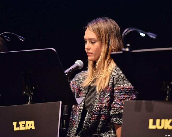 Jessica Alba - Performs a Live Reading at The Empire Strikes Back Live Read in LA