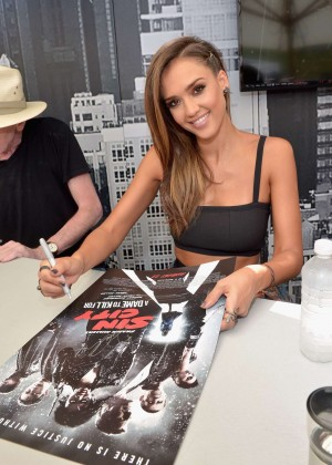 Jessica Alba - Sin City A Dame To Kill For Experience at Comic-Con