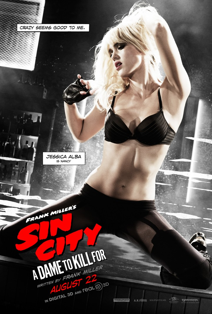 Jessica Alba – Sin City A Dame to Kill For poster
