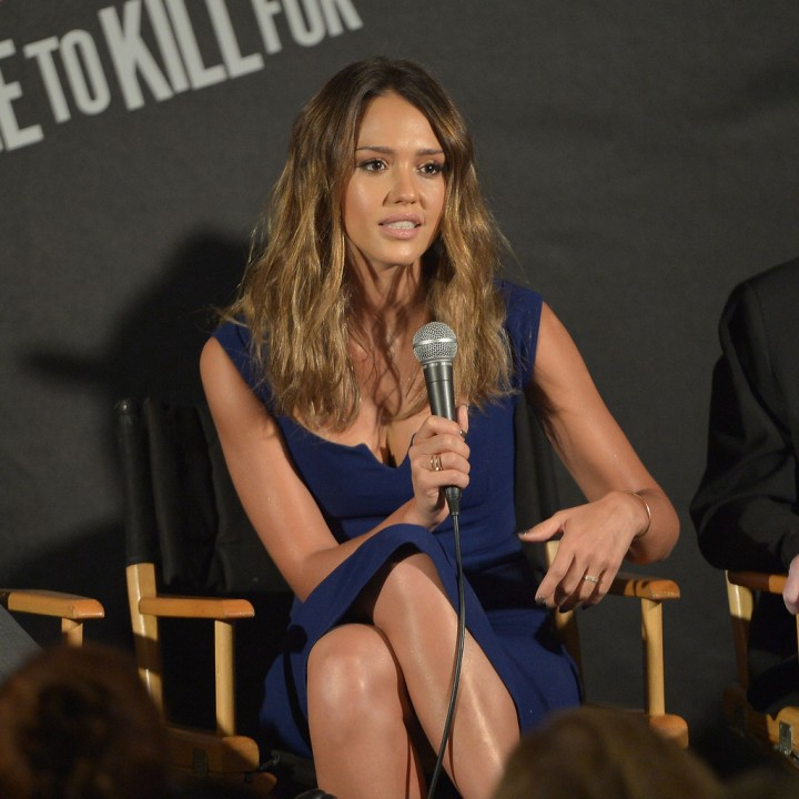 Jessica Alba - Sin City: A Dame to Kill For press conference in Los Angeles