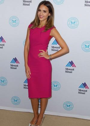 Jessica Alba - The Honest Company Sponsored Clean Room in NY