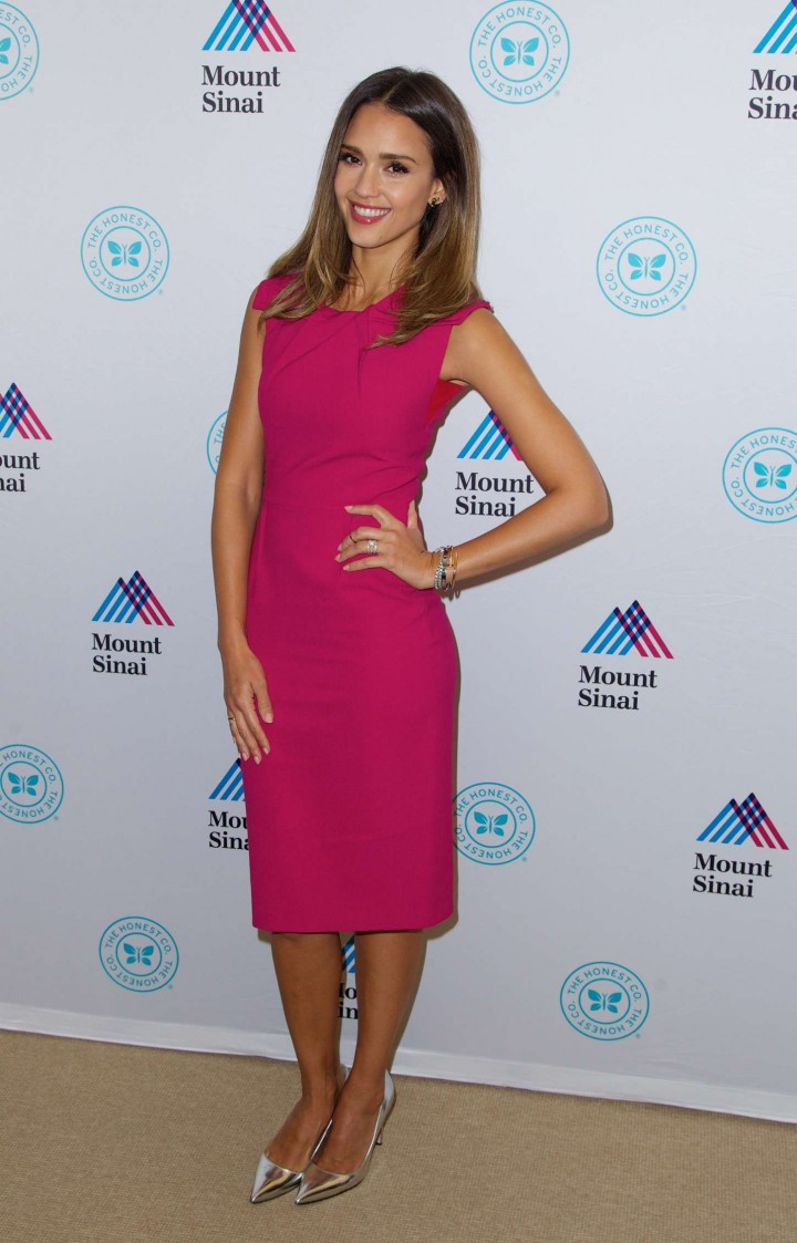 Jessica Alba - The Honest Company Sponsored Clean Room in NY