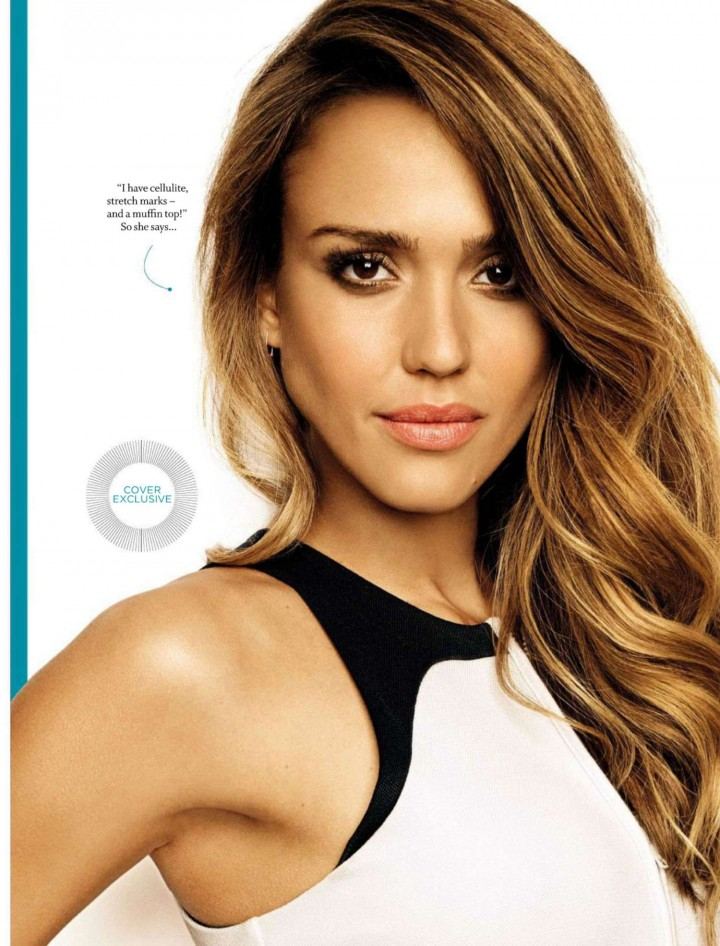 Jessica Alba - Women's Health South Africa Magazine (August 2014)