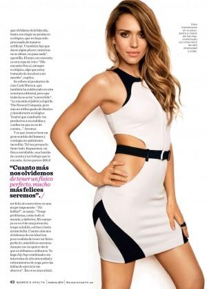 Jessica Alba - Women's Health Spain Magazine (December 2014)