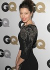 Jessica Biel - Hot In Black Tight Dress at 2011 GQ Men of the Year Party-08