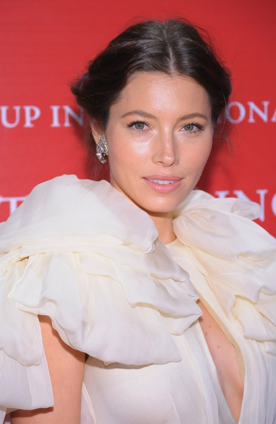 Jessica Biel – Cleavage Candids at 28th annual Night of Stars-06