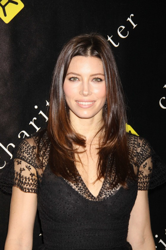 Jessica Biel - Black Dress at 6th Annual Charity Ball in NY
