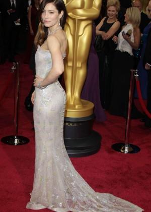 Oscar 2014: Jessica Biel -02