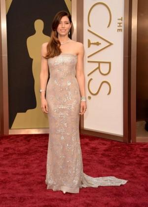 Oscar 2014: Jessica Biel -06