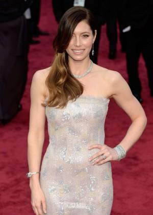 Oscar 2014: Jessica Biel -10