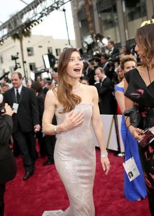 Oscar 2014: Jessica Biel -13