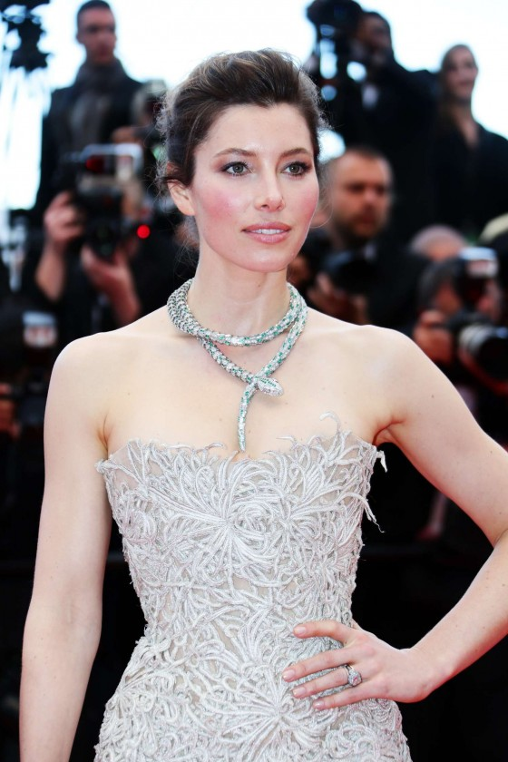 Jessica Biel at Inside Llewyn Davis Preimere at the 66th Cannes Film Festival-08