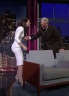 Jessica Biel - Tight Dress at the Late Show With David Letterman-04