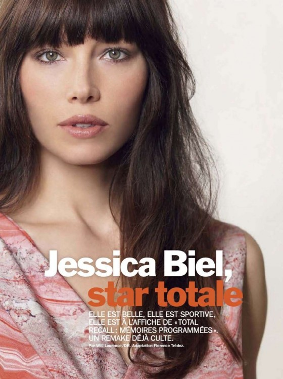 Jessica Biel hot for Cosmopolitan Magazine
