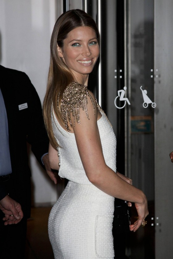 Jessica Biel: Museum of Modern Art Event -06