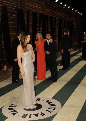 Jessica Biel: Oscar 2014 - Vanity Fair Party -02