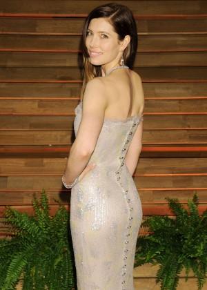 Jessica Biel: Oscar 2014 - Vanity Fair Party -03