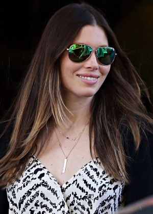Jessica Biel out and about in Sydney