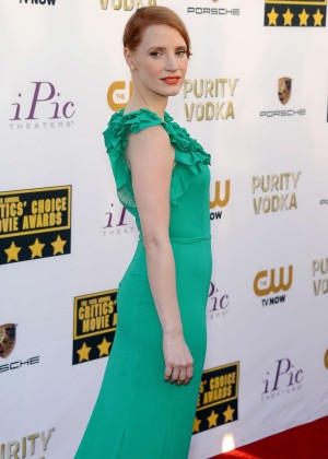Jessica Chastain Photos: 2014 Critics Choice Movie Awards-03