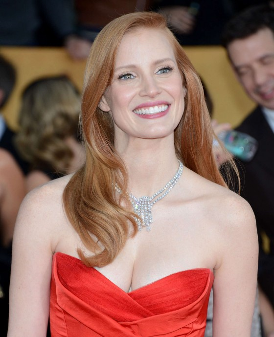 Chastain – 19th annual screen actors guild awards in los angeles
