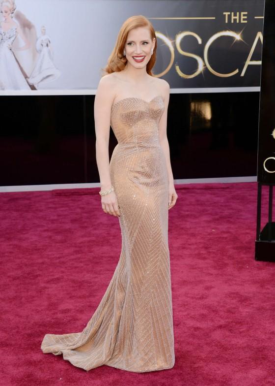 Jessica Chastain – Oscar 3013 -10