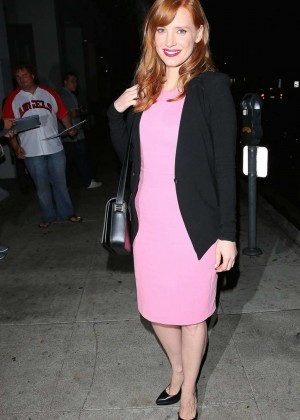"""Jessica Chastain - """"A Most Violent Year"""" at The Writers Guild Event in NY"""