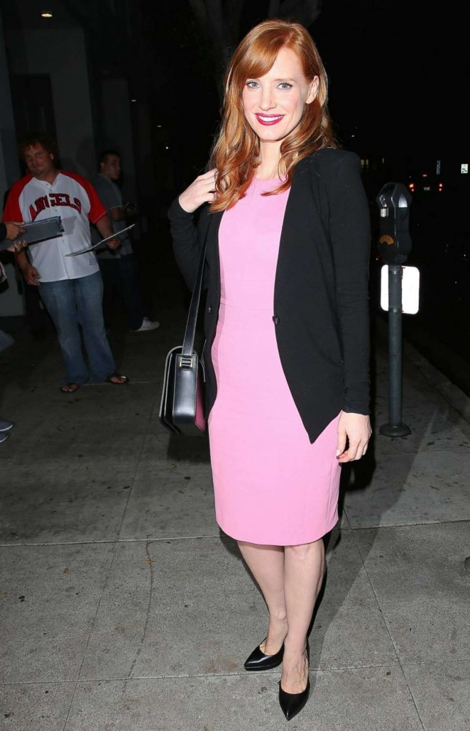 "Jessica Chastain - ""A Most Violent Year"" at The Writers Guild Event in NY"