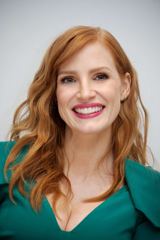 Jessica Chastain - 'A Most Violent Year' Press Conference in Beverly Hills