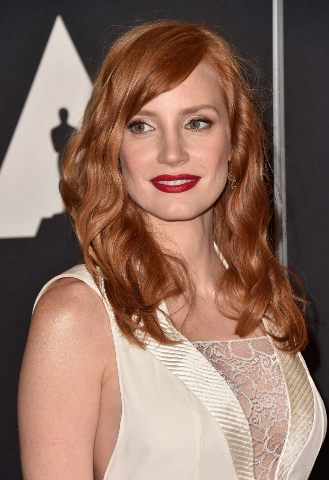 Jessica Chastain - AMPAS 2014 Governors Awards in Hollywood