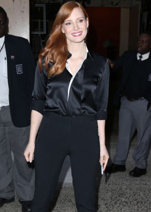 Jessica Chastain - Appearance at 'Live with Kelly & Michael' in New York City