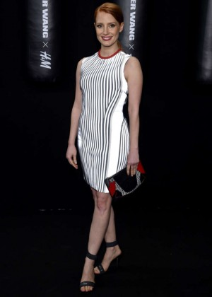 Jessica Chastain - Alexander Wang x H&M Collection Launch in NYC