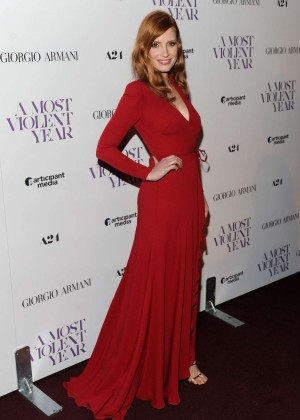 """Jessica Chastain - """"A Most Violent Year"""" Premiere in New York"""
