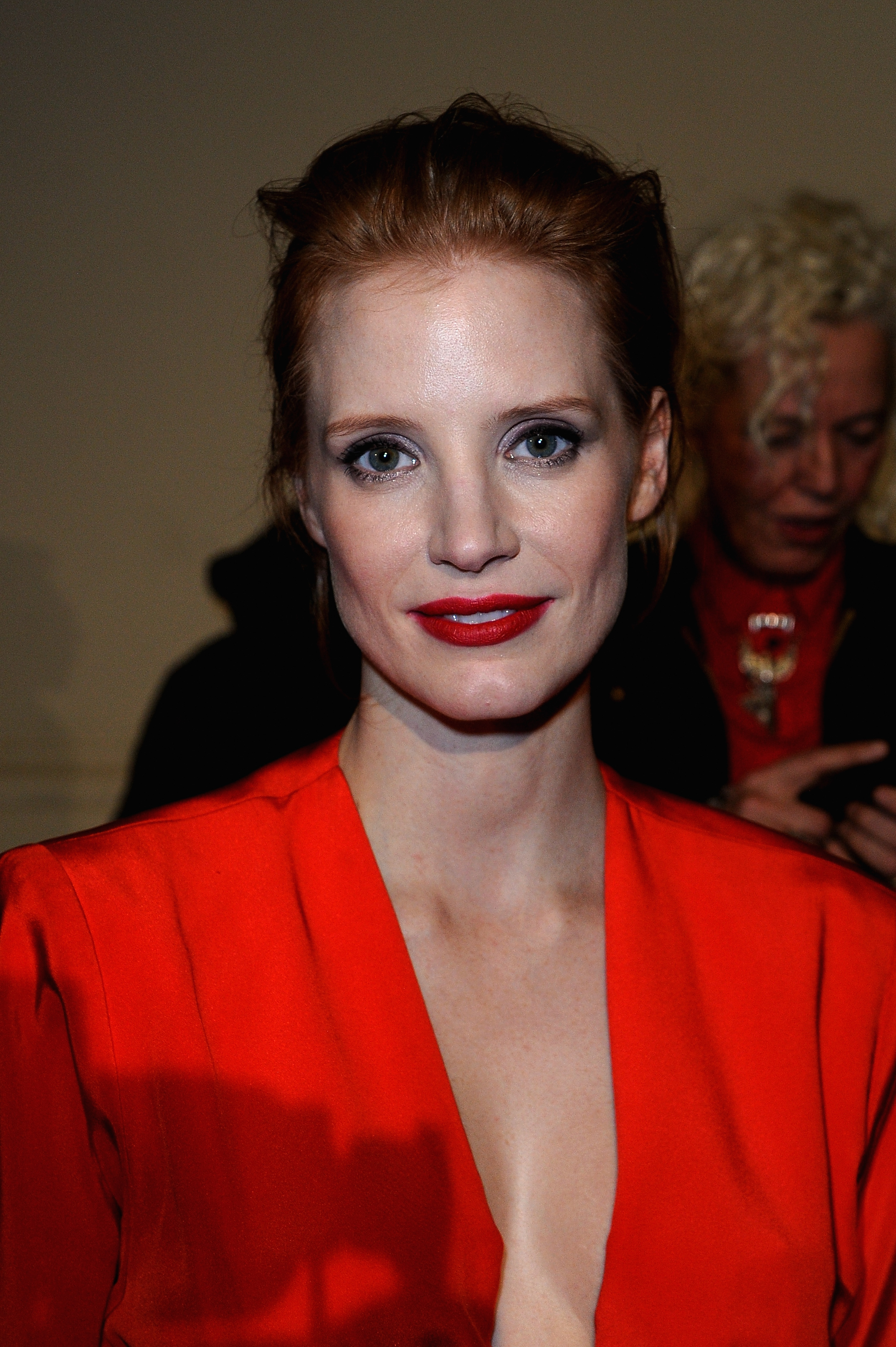 Jessica Chastain at Sa... Jessica Chastain