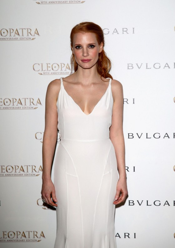 Jessica Chastain - Cleopatra cocktail at Cannes -03