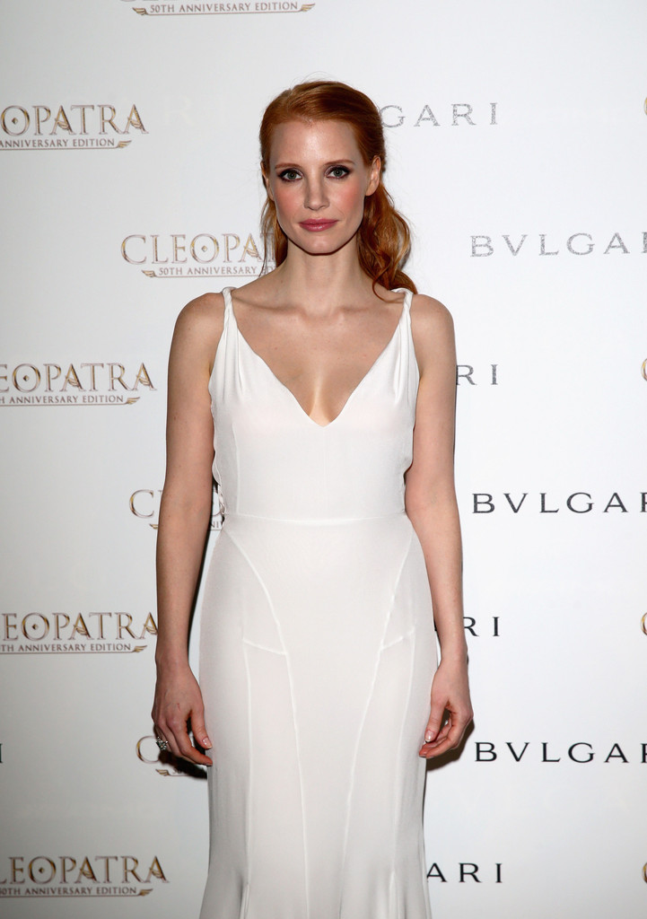 Jessica Chastain - Cleopatra cocktail at Cannes -03 - GotCeleb Jessica Chastain