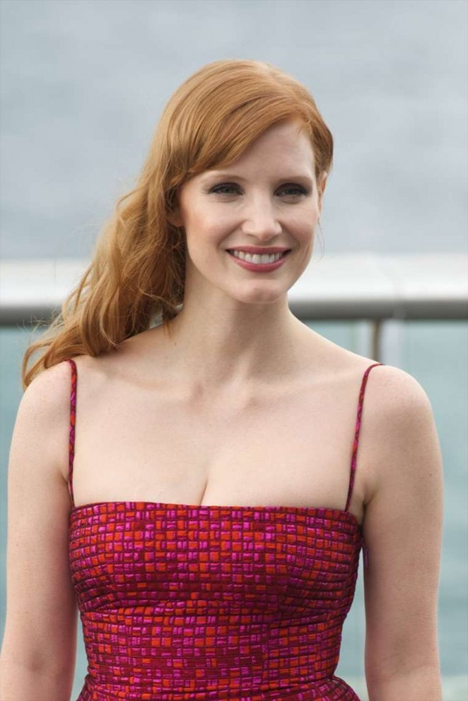 """Jessica Chastain - """"Disappearance of Eleanor Rigby"""" Photocall at SSFF 2014 in San Sebastian"""