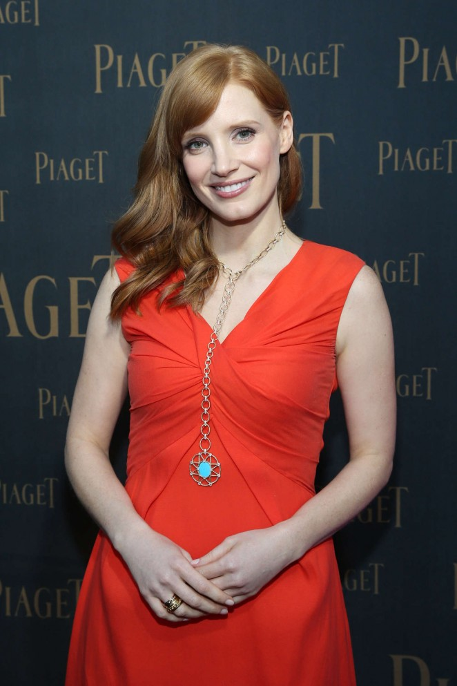 Jessica Chastain - Extremely Piaget Launch Event in Beverly Hills