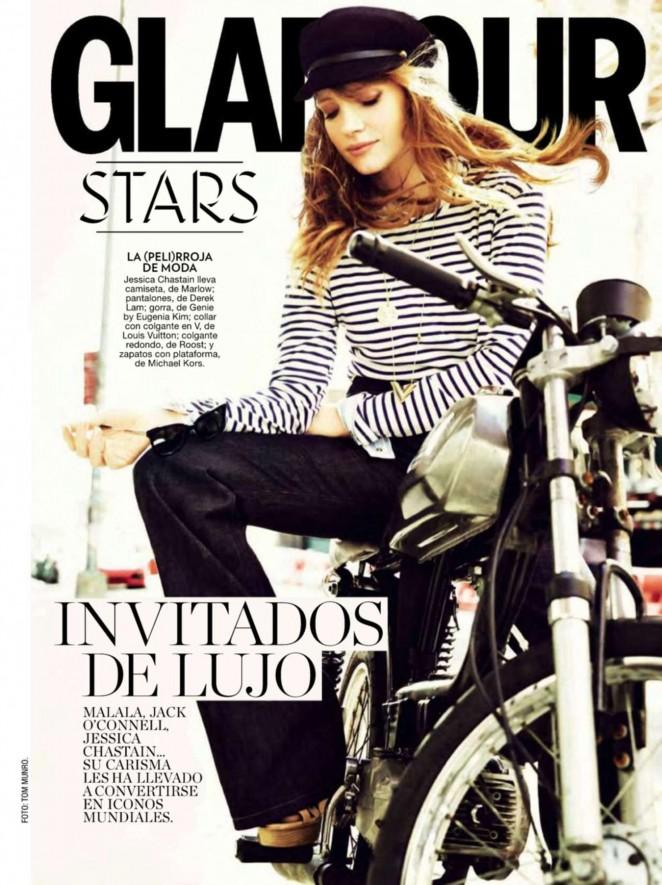 Jessica Chastain - Glamour Spain Magazine (December 2014)