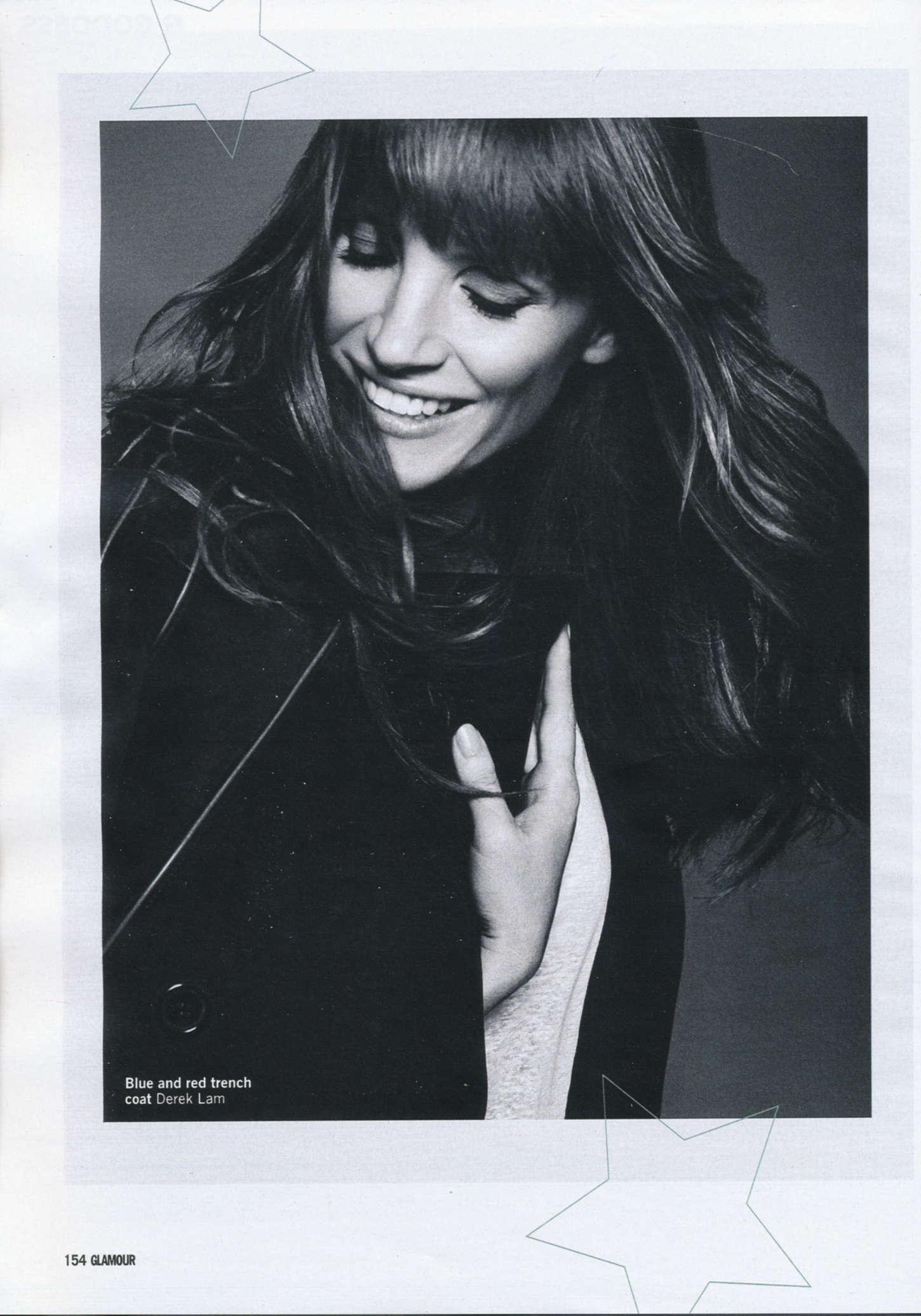 Jessica Chastain - Glamour UK Magazine (February 2015)