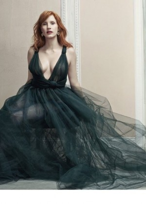 Jessica Chastain - Harper's Bazaar UK Magazine (November 2014)