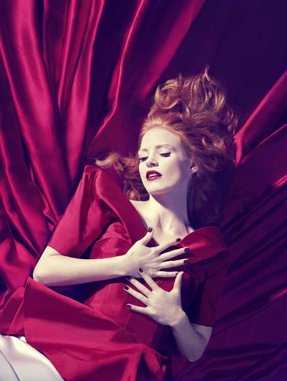 Jessica Chastain – In Style Magazine Photoshoot 2013 -01