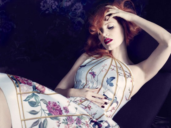 Jessica Chastain – In Style Magazine Photoshoot 2013 -02