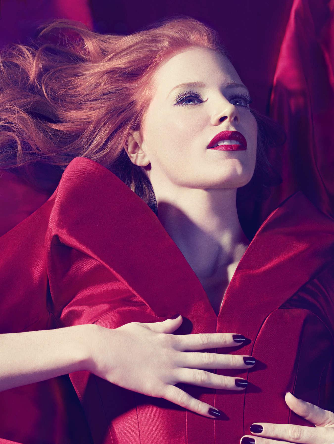 Jessica Chastain In Style Magazine Photoshoot 2013 05 Gotceleb