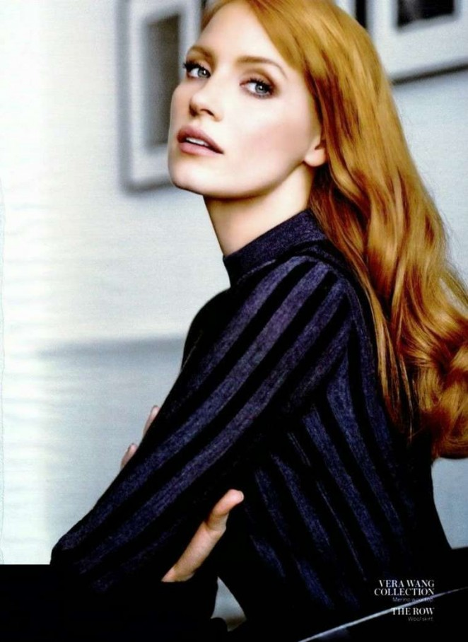 Jessica Chastain - InStyle USA Magazine (January 2015)