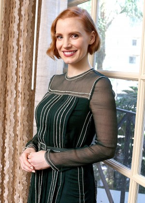 Jessica Chastain - 'Interstellar' Press Conference in Beverly Hills